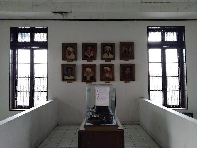 museum perjoangan interior