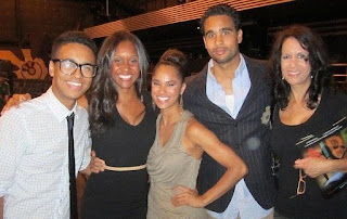 Picture of Misty Copeland with her family