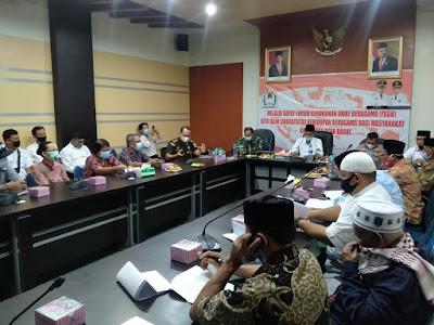 Forkopimda Aceh Barat Jalin Sinergitas Dengan Tokoh Lintas Agama