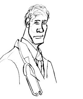 Funny short old man doctor joke picture