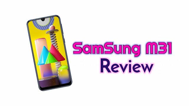 Samsung's Galaxy M31 smartphone