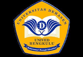 Download Logo Unived Bengkulu PNG Lambang Kampus Universitas Dehasen