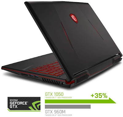 "MSI GL63 8RCS-060 15.6"" Gaming Laptop"