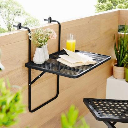 table repliable de balcon aldi avis sur les produits. Black Bedroom Furniture Sets. Home Design Ideas