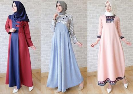 Baju Hijab untuk Lebaran Populer 2017