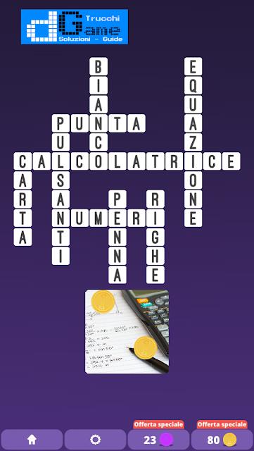 Soluzioni One Clue Crossword livello 9 schemi 9 (Cruciverba illustrato)  | Parole e foto