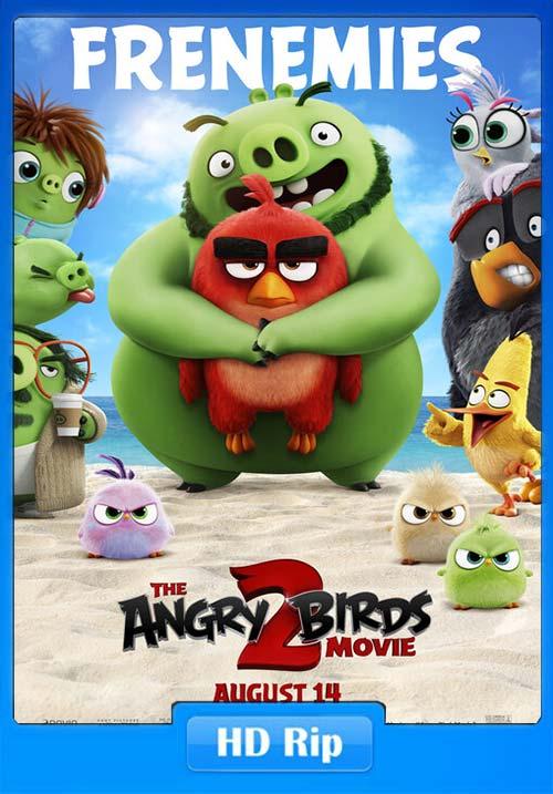 The Angry Birds Movie 2 2019 720p HC HDRip Hindi Telugu Tamil Eng | 480p 300MB | 100MB HEVC Poster