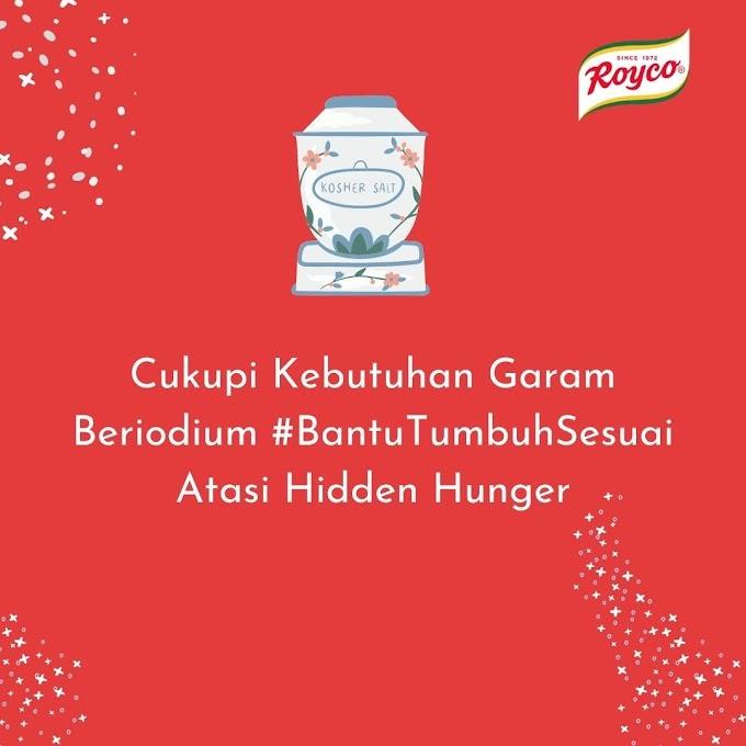Cukupi Kebutuhan Garam Beriodium #BantuTumbuhSesuai Atasi Hidden Hunger