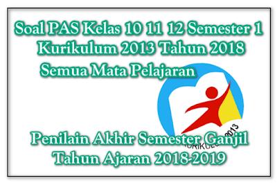 Soal UAS PAS PKWU Kelas 10 11 12 Semester 1 K13 Revisi 2018 ... ef78e957de