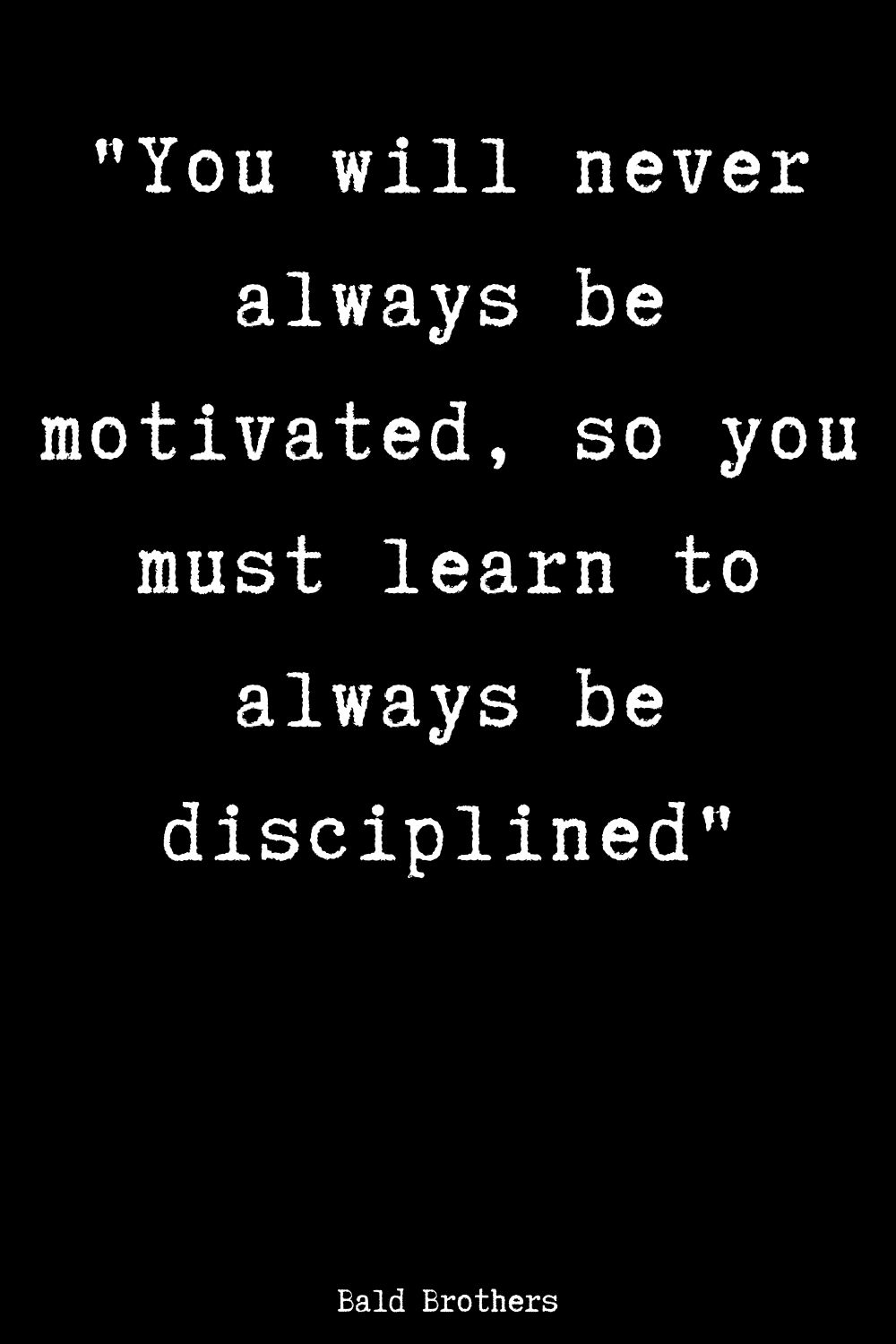 always-be-disciplined
