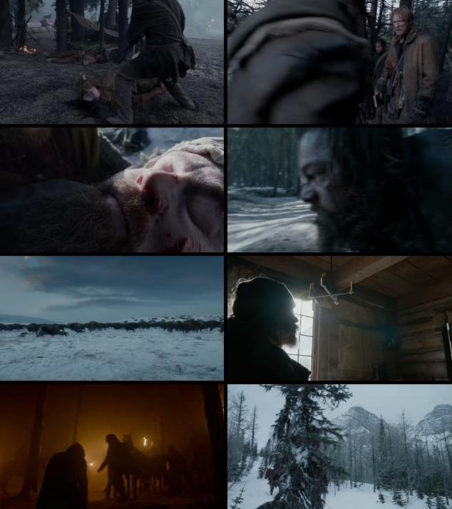 The Revenant 2015 English 720p BRRip