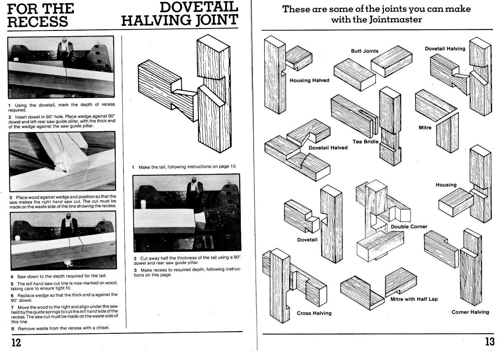 dovetail joint instructions