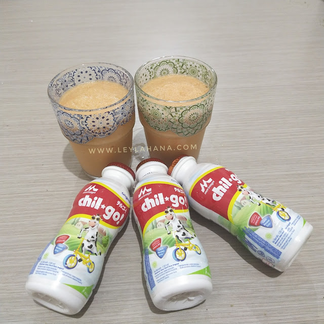 Milkshake Apel Wortel