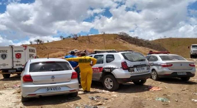 Homem é encontrado morto próximo ao lixão de Alagoinha