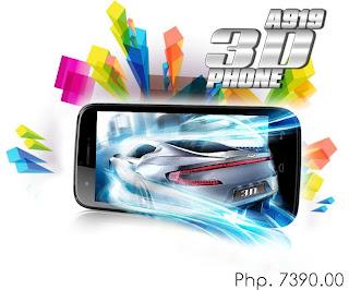 MyPhone A919 3D Price