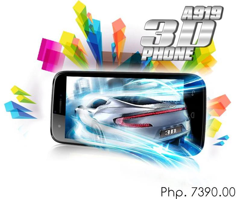Glasses Free 3D experience on MyPhone A919 3D Duo