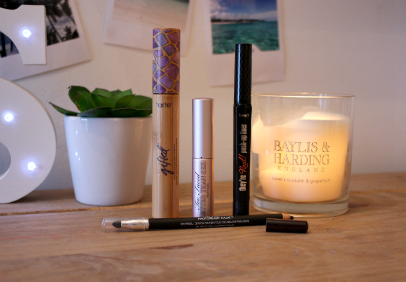 Holiday Make-Up Essentials Eyeliner Mascara Benefit They're Real Too Faced Better Than Sex Tarte Gifted Revlon Photoready
