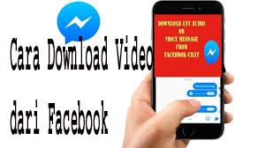 Cara Download Video dari Facebook  1