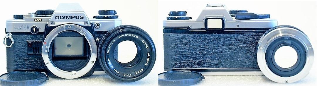 Olympus OM10 (Chrome) Body #829, Zuiko Auto-S 50mm 1:1.8 #070