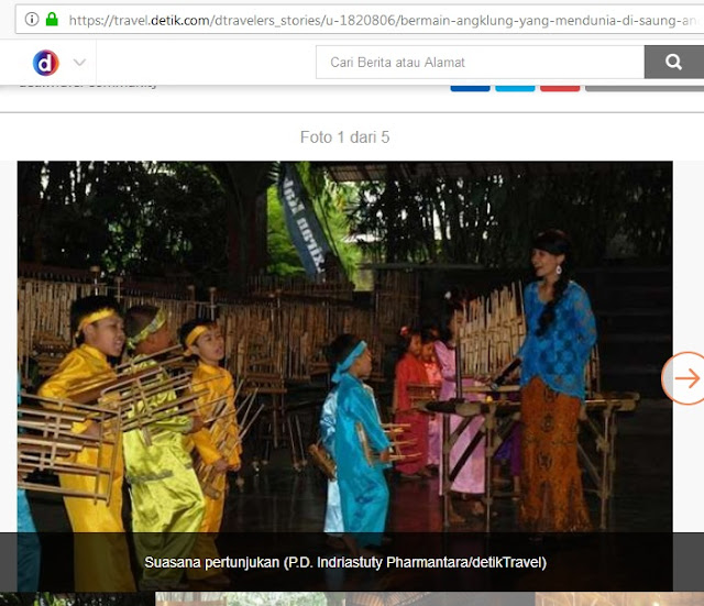 #PDL Harmonisasi Di Saung Angklung Udjo