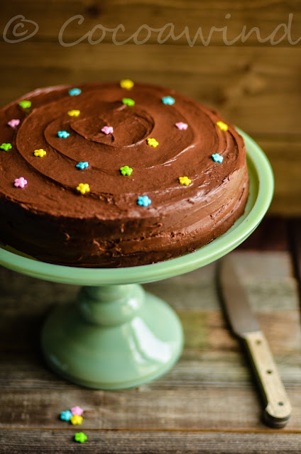 Nigella's Old Fashioned Chocolate Cake - Cocoawind