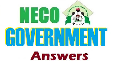 NECO Government Answer & Questions 2017 Expo | Objective/Theory/Essay