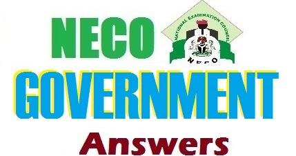 NECO Government Expo 2017/NECO Government Runs 2017/NECO Government Answers  2017/NECO Government Questions 2017 - Welcome To ExamStriker's Web