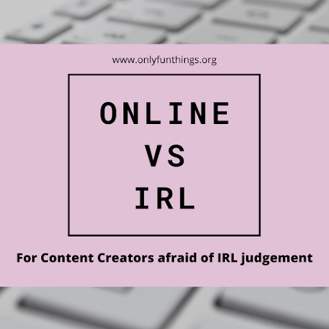 "Is Your ""Online Life"" causing IRL Trouble? The Truth about the Overlap… (For Content Creators)"