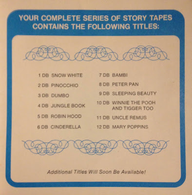 Complete series listing of story tapes