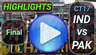 IND vs PAK Final