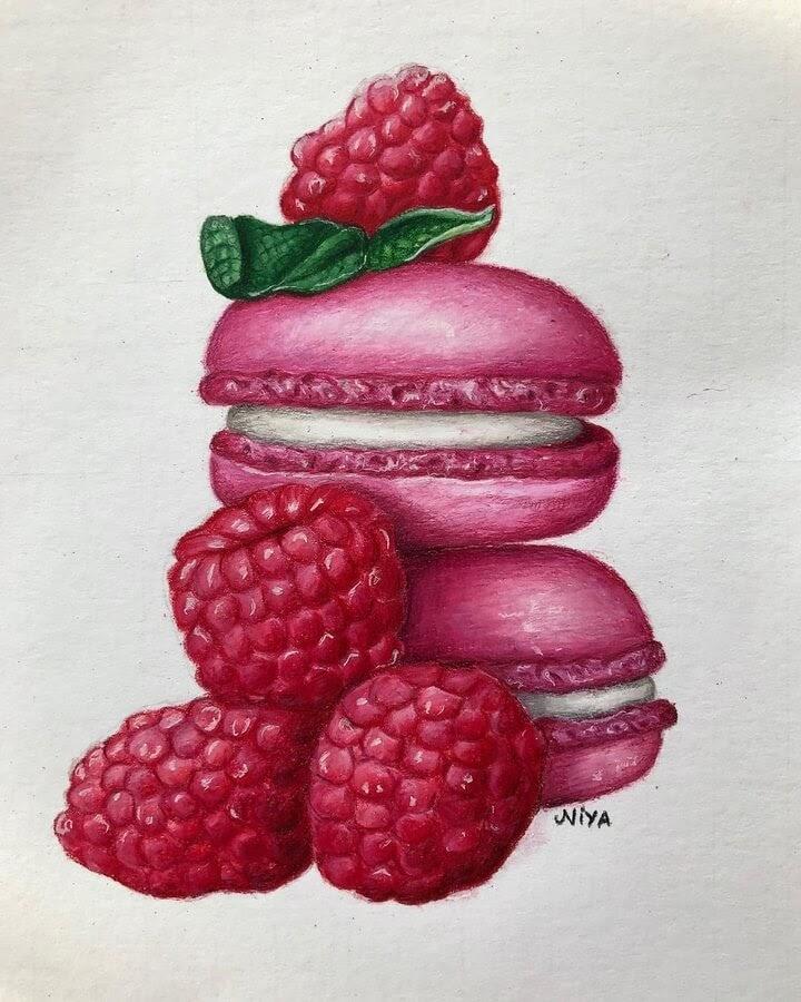 01-Macaroons-and-raspberries-Niya-www-designstack-co