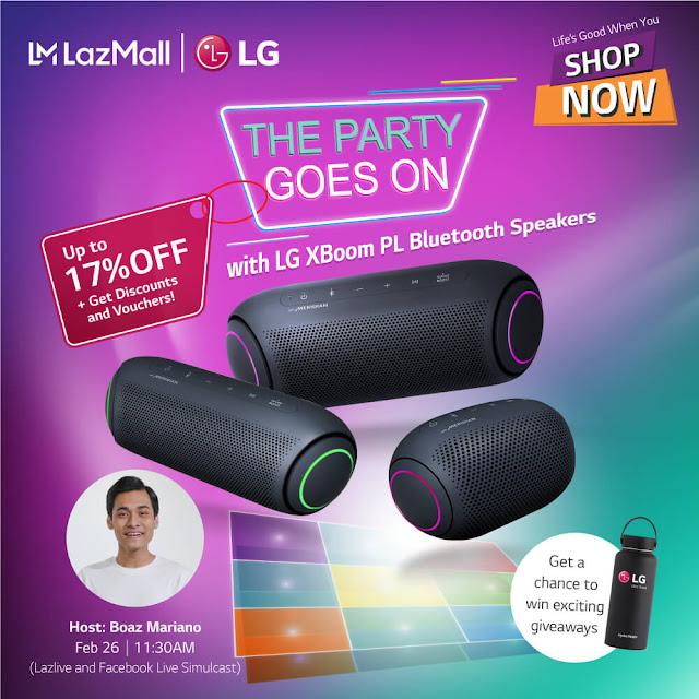 LG Xboom Livetream Gizmo Manila