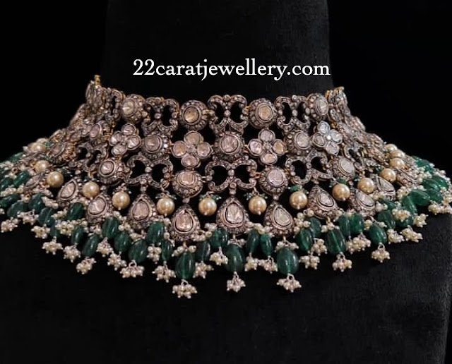 Polki Bridal Set by Ganesh Jewels