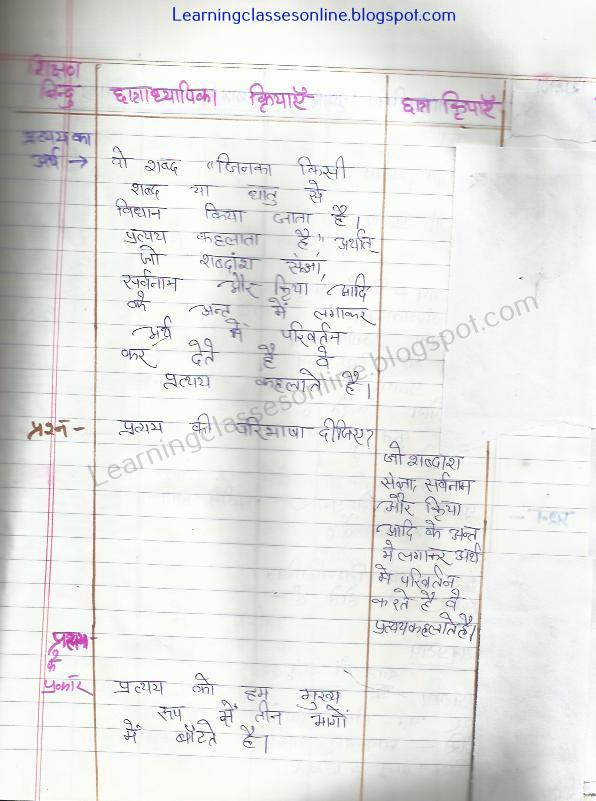 sanskrit pratya