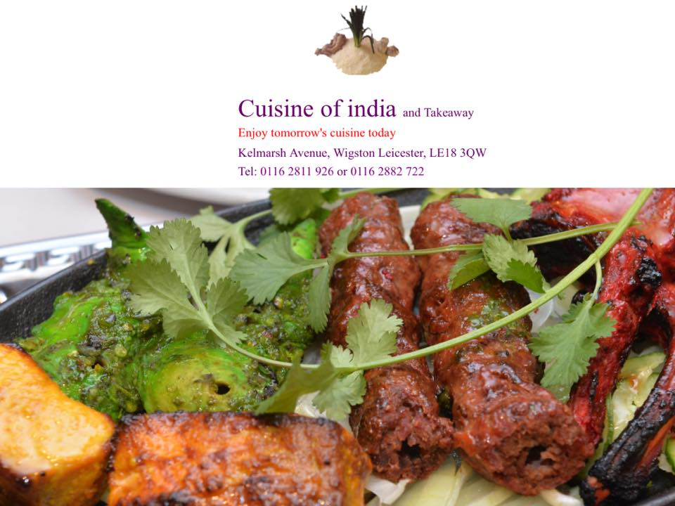 Leicester model aero club for Cuisine of india wigston