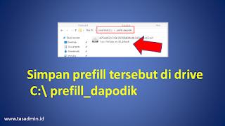 Folder Prefill Dapodik 2022