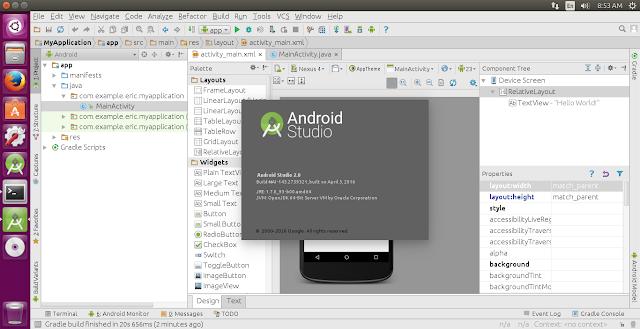 Install Android Studio 2.0 On 64-Bit Ubuntu 15.10 Amongst Ubuntu Brand (Umake)
