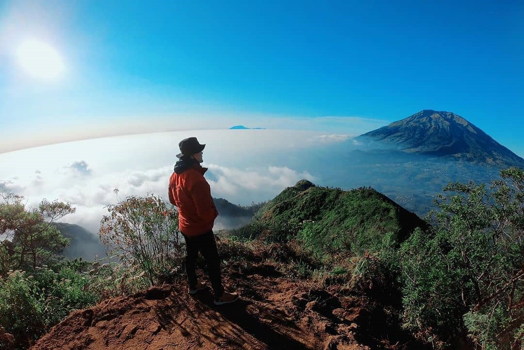 Kawah Gunung Telomoyo