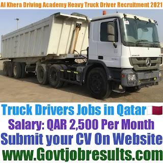 Al Khebra Driving Academy Heavy Truck Driver Recruitment 2021-22