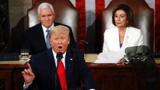 Anos de decadência econômica terminaram, diz Trump