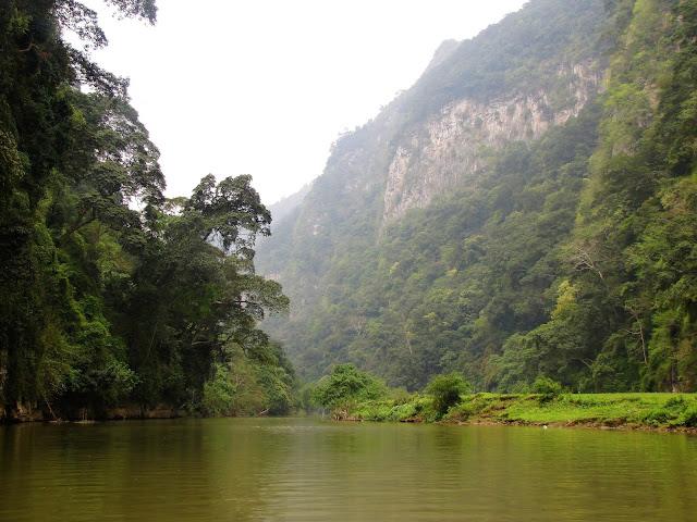 nang river ba be national park vietnam