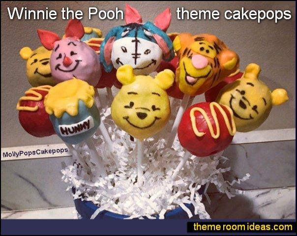 Winnie the Pooh theme cakepops winnie the pooh party food winnie the pooh party decorations
