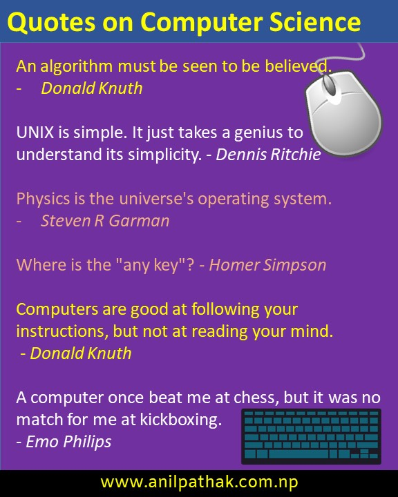 quotes on computer science