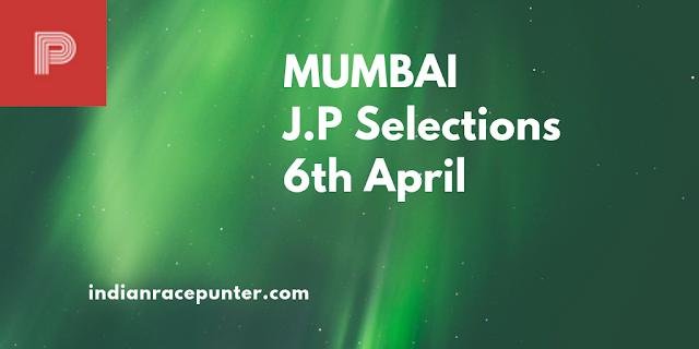 Mumbai Jackpot Selections 6th April, Trackeagle,Track eagle