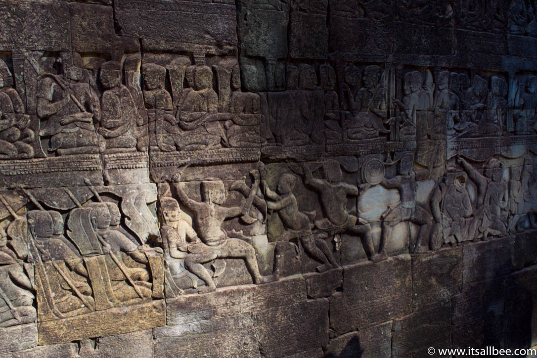 Bayon Temple Faces | Temple In Siem Reap | Bayon Temple Images