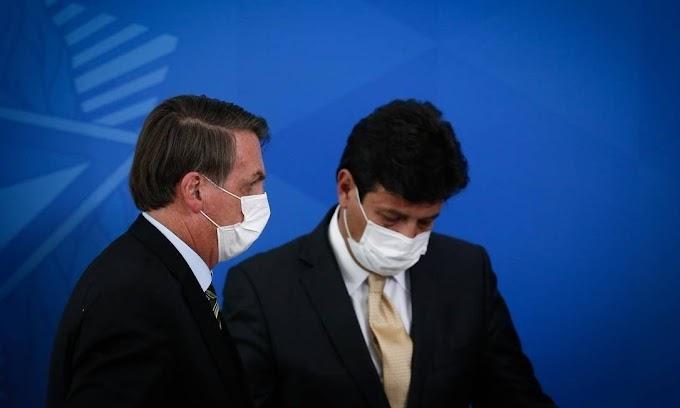 URGENTE: Bolsonaro exonera Mandetta do Ministério da Saúde