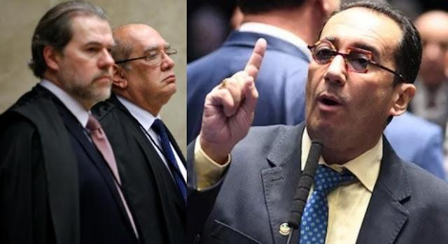 Senadores criticam censura do STF à revista Crusoé