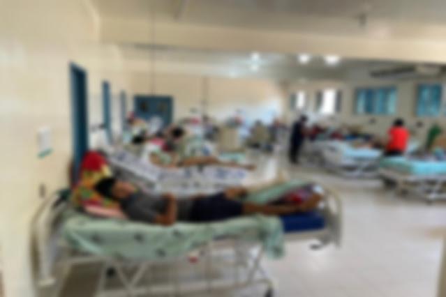 Imagem feita durante fiscalização em hospital de Vilhena, RO