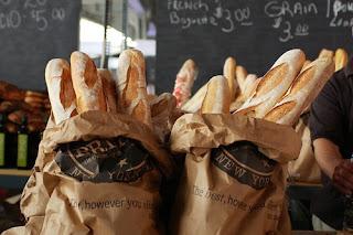 Pan en bolsa panadería