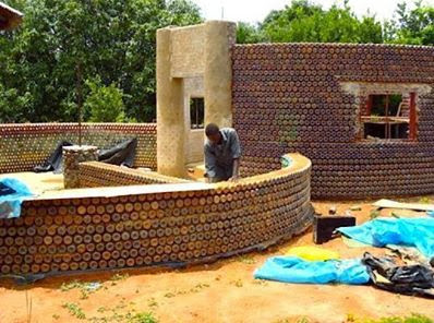 Africa's first plastic bottle house